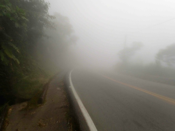 The mist descends (Photo credit: Sue's blog)