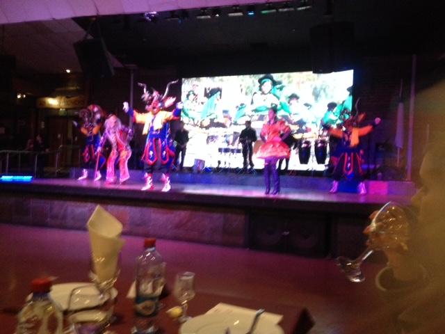 Dinner show in Santiago