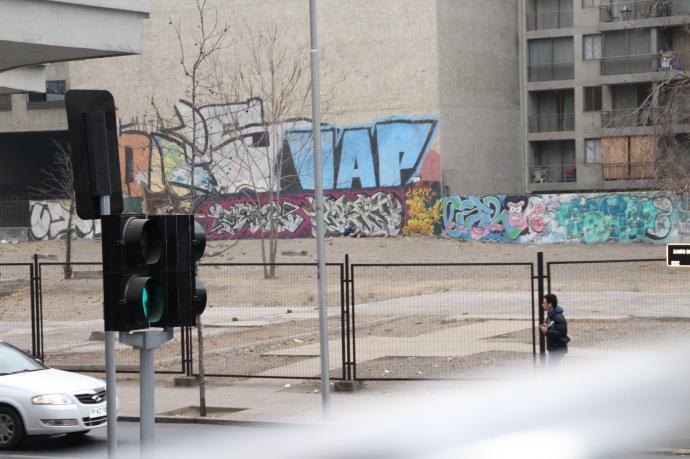Grafitti in Santiago