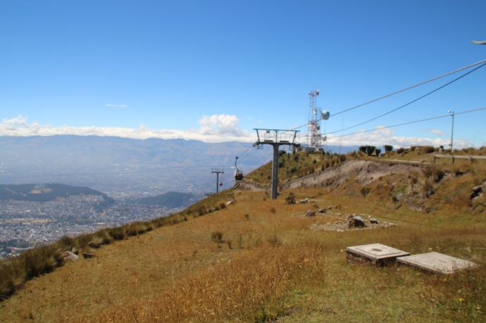 Another view from Teleferrico cable car