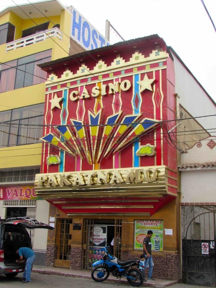 A glitzy casino in town (Photo and caption credit: Sue's blog)