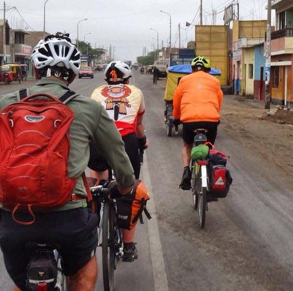 Deserted desert towns of Northern Peru (Photo and caption from the TDA Global Cycling Instagram Page)