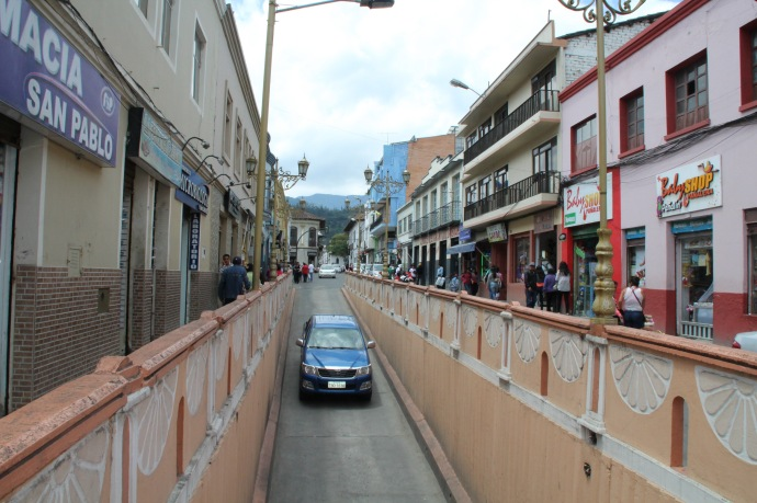 Street in Loja