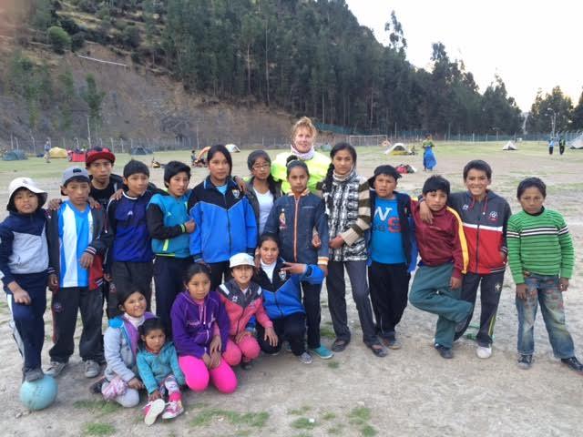 Presentation to school kids at Cotaruse