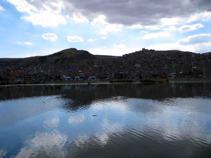 Lake Titicaca (Photo and caption credit: Sue's blog)