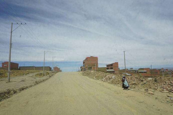 City above La Paz