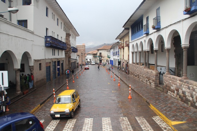 Street hotel in Cusco (the street is the same name as the hotel)