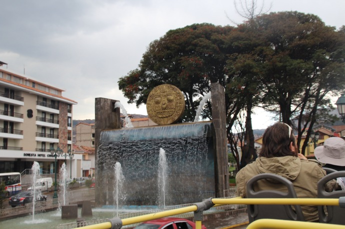 Water fountain in Cusco