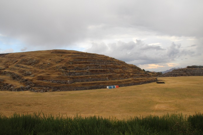 Another view of Sagsay waman in Cusco