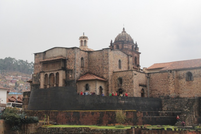 Sun temple in Cusco