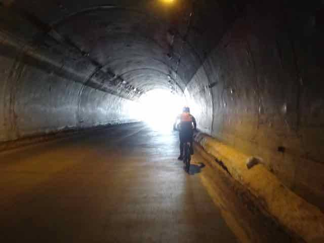 One of the tunnels (Photo credit: Jo's Facebook page)