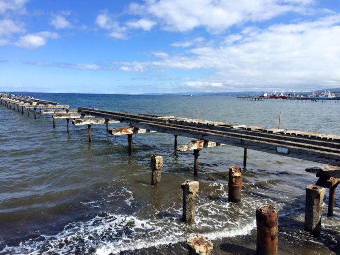 Wharf in