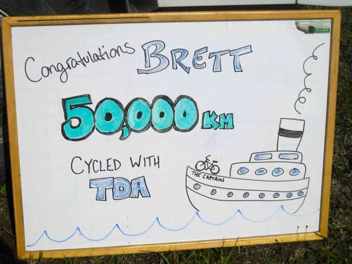 Whiteboard for Brett