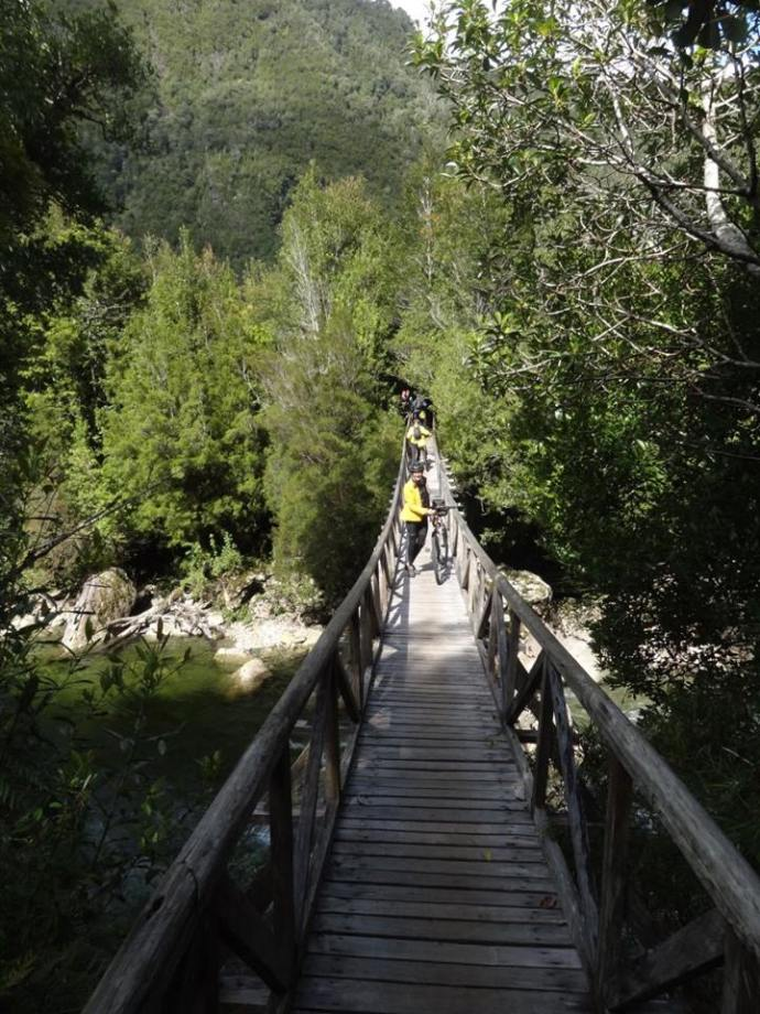 The bridge to camp