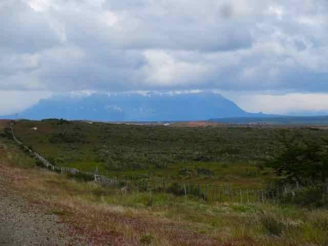 Heading into Puerto Natales (Photo credit: Jo's Facebook page)