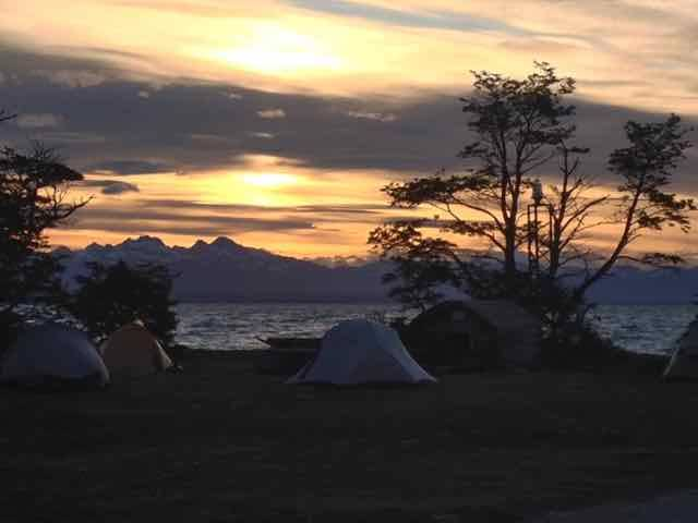 Final campsite (Photo credit: Jo's Facebook page)