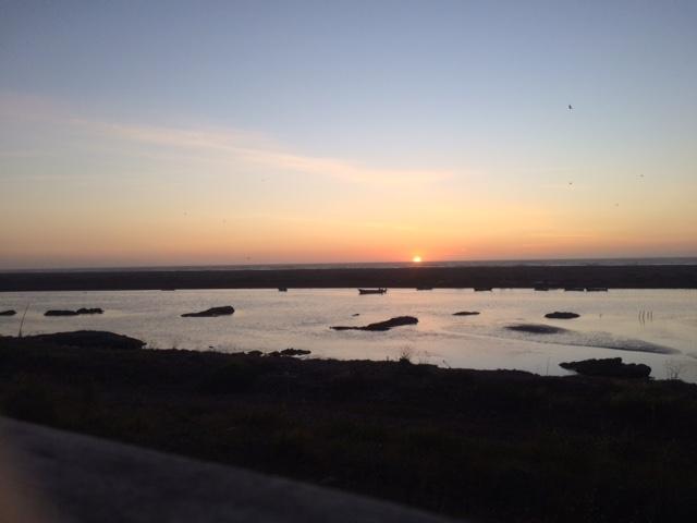 La Pesca sunset