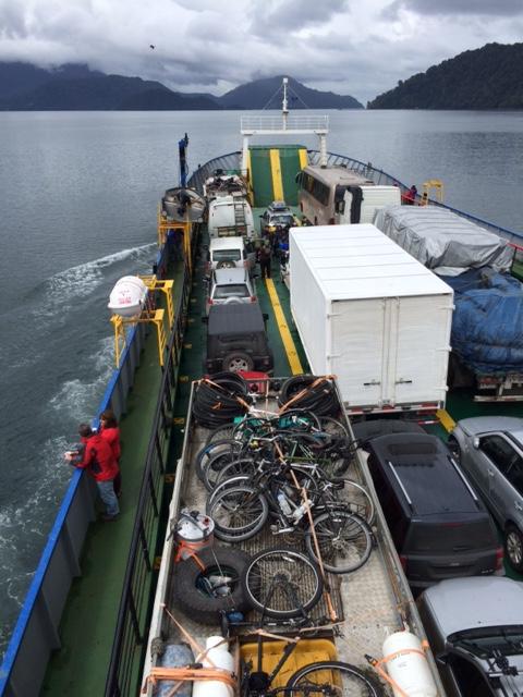 A full ferry!