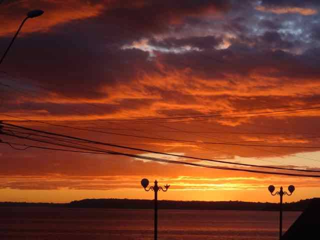 Sunset in Puerto Mortt