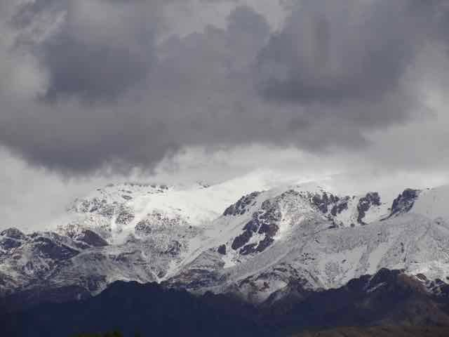 The mighty Andes