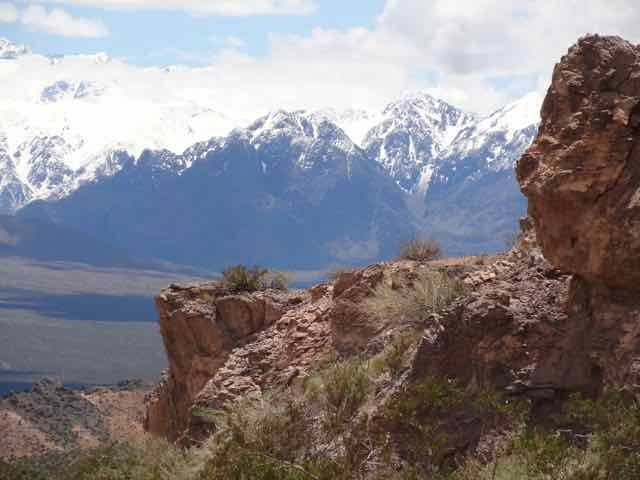 Views along the way to the Cerro De Siete Colores